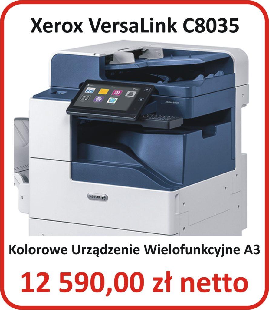Kserokopiarka kolorowa A3 Xerox C8035