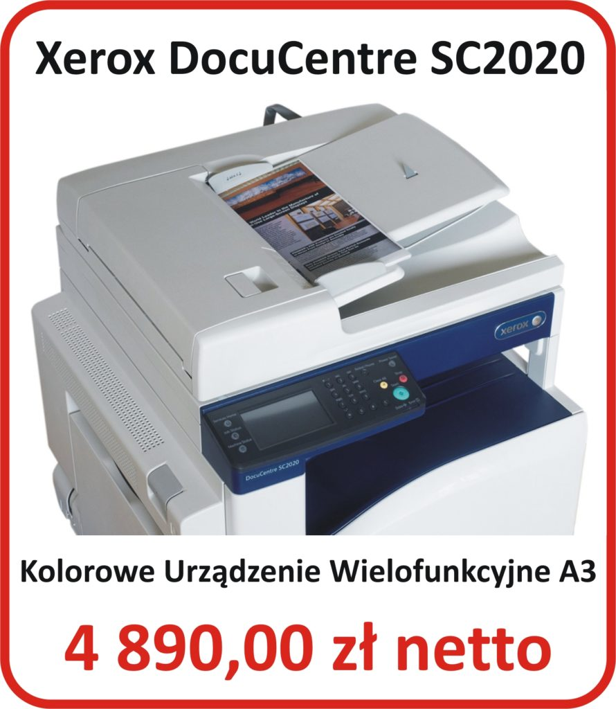 Kopiarka Kolorowa A3 Xerox 2020